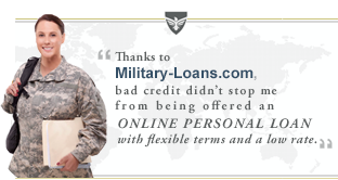 Personal Loan For Military With Bad Credit