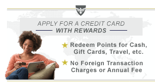 Military Credit Cards with Rewards