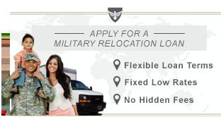 military loan rates